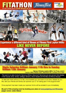 Fitness First Fit-a-thon Poster
