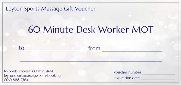 Gift Voucher Terms and Conditions Leyton Sports Massage