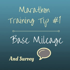 Getting Marathon Ready?