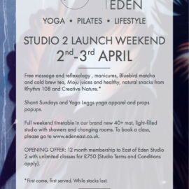 Join Us at East of Eden's Studio Launch