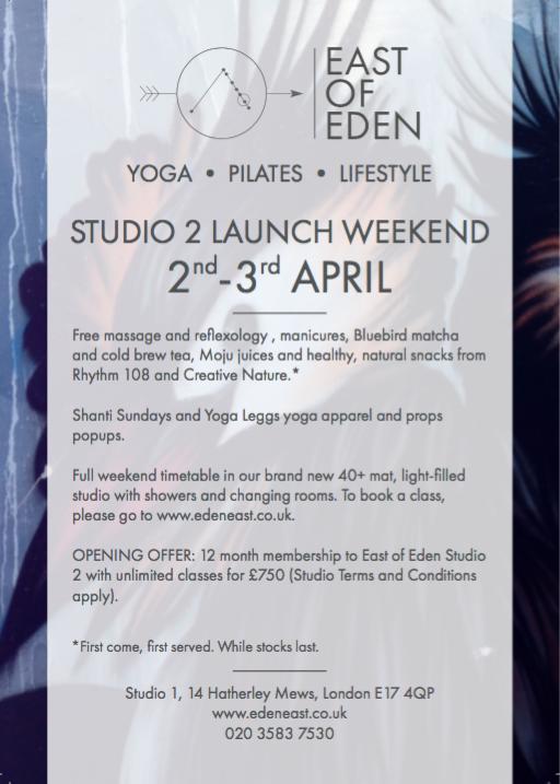 East of Eden Launch Details