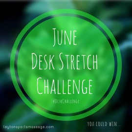 LSM Desk Stretch Challenge & Easy Desk Stretches