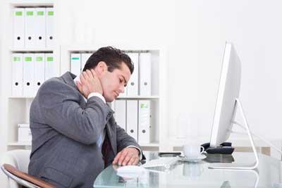 Desk-Based Neck Pain Strikes Again