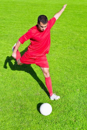 Improved Football Kick with Fascial Lines