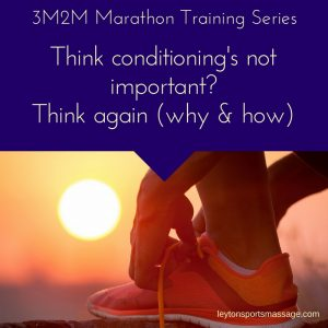 Conditioning Training for a Marathon