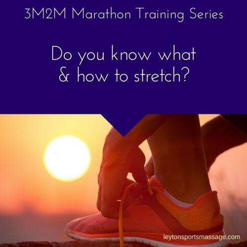how to stretch when training for a marathon