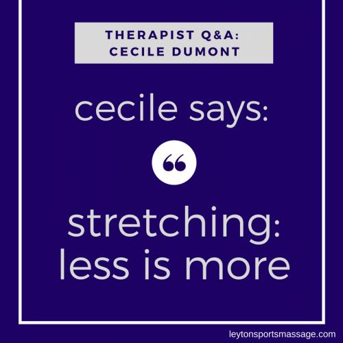 Q&A - Cecile