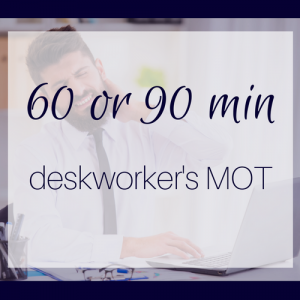 deskworkers' MOT: for neck and shoulder pain or other desk-related aches