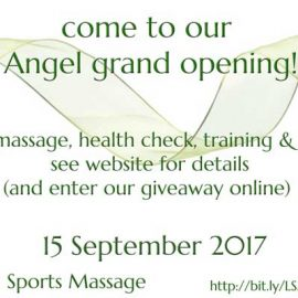 Angel Grand Opening & Giveaway