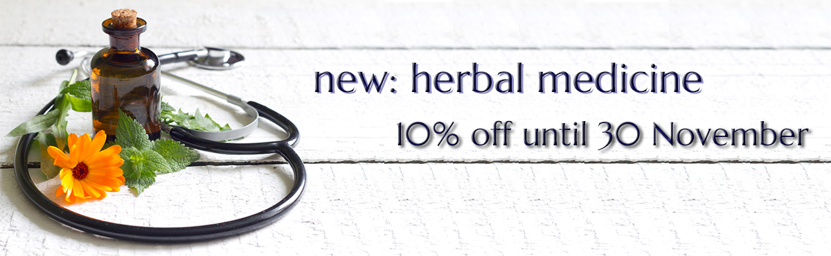 try herbal medicine