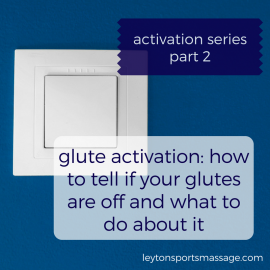 Activation Series 2: Glute Activation